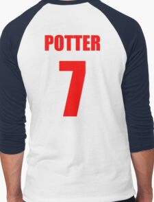 Potter 7 Top Men's Baseball ¾ T-Shirt