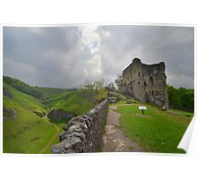 The Peak District: Peveril Castle & Cave Dale Poster
