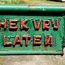 Hek vrij laten by DutchLumix