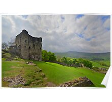 The Peak District: Peveril Castle & Mam Tor Poster