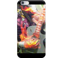 Flaming guitar  iPhone Case/Skin