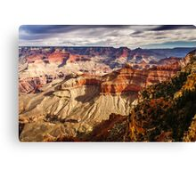 From the Rim into the Canyon Canvas Print