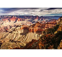 From the Rim into the Canyon Photographic Print
