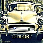 Morris Minor by thepicturedrome