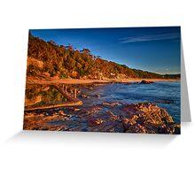 Aslings Beach in Eden Greeting Card