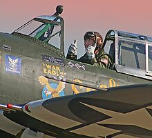 Thumbs Up !! - Duxford 26.05.2013 by Colin  Williams Photography