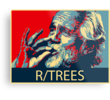 Tommy Chong - R/Trees Metal Print