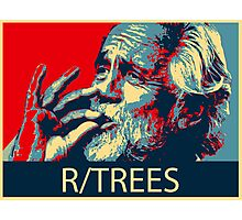 Tommy Chong - R/Trees Photographic Print