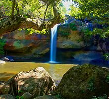 Khao Yai waterfall by renekisselbach