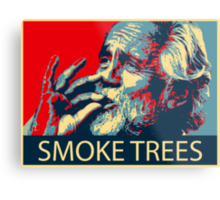 Tommy Chong - Smoke trees Metal Print