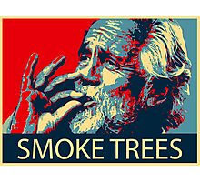 Tommy Chong - Smoke trees Photographic Print