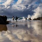 Snapper Rocks by D Byrne