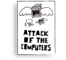 Attack of the Computers Metal Print