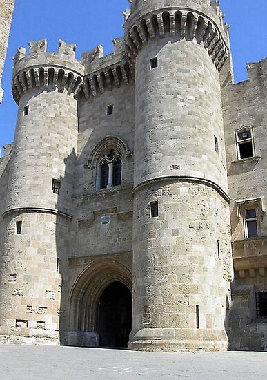 The Grand Master's Palace In Rhodes Island Greece by taiche