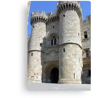 The Grand Master's Palace In Rhodes Island Greece Canvas Print