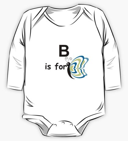 B is for... V4 One Piece - Long Sleeve