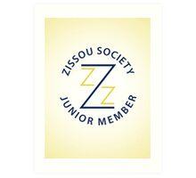 Zissou Society Junior Member Art Print