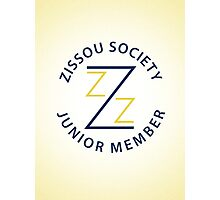 Zissou Society Junior Member Photographic Print