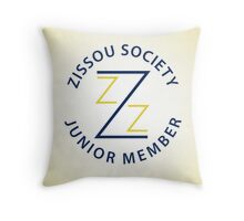 Zissou Society Junior Member Throw Pillow