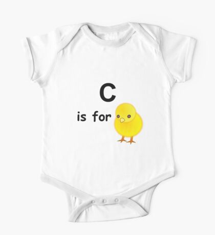 C is for ...V4 One Piece - Short Sleeve