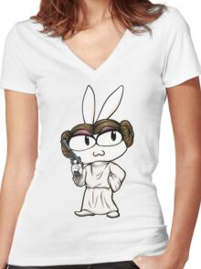 T-shirt Leibunchu ~ Star Wars Women's Fitted V-Neck T-Shirt