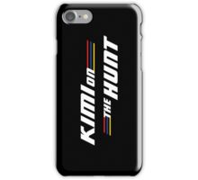 Kimi on the Hunt iPhone Case/Skin