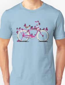 Butterfly Bicycle Unisex T-Shirt