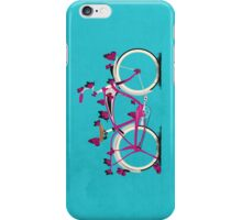Butterfly Bicycle iPhone Case/Skin