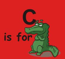 C is for ...V6 One Piece - Short Sleeve