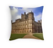 Downton Abbey Digital Art Throw Pillow