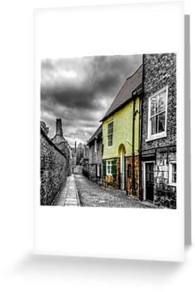Mews Cottage York by Trevor Kersley