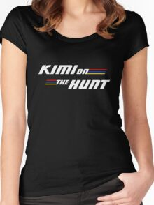 Kimi on the Hunt Women's Fitted Scoop T-Shirt