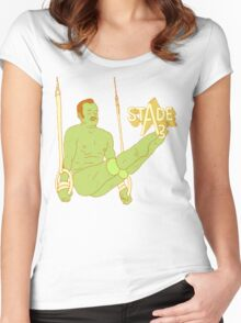 Mr. Oizo - Stade 3 Women's Fitted Scoop T-Shirt