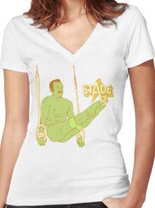 Mr. Oizo - Stade 3 Women's Fitted V-Neck T-Shirt