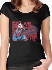 Ash vs. Evil Dead Women's Fitted Scoop T-Shirt