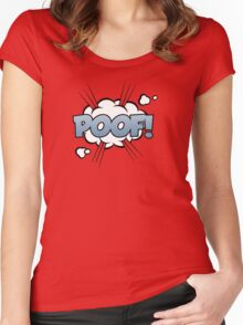 Poof Women's Fitted Scoop T-Shirt