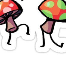 Struttin' Mushrooms Sticker