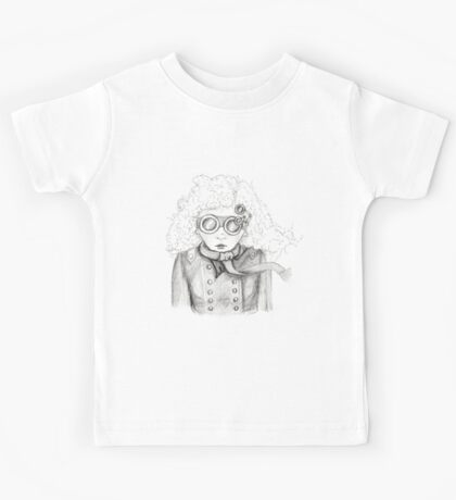 In the blustery weather Kids Tee