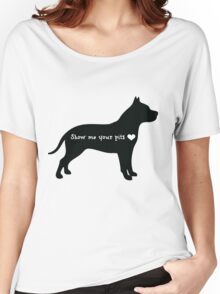Show me your pits Women's Relaxed Fit T-Shirt