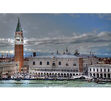 Scrolling to the heart of Venice  (see large) Photographic Print