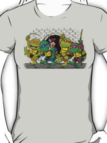 Where the wild turtles are T-Shirt