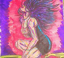 Lady in the Black Dress by BeezusFreak