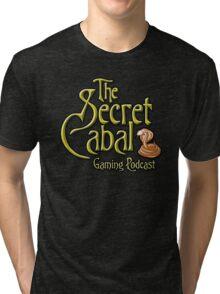 The Secret Cabal Gaming Podcast Tee Shirt Tri-blend T-Shirt