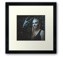The Skull Collector Framed Print