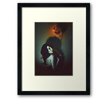 The Girl With The Balloon Framed Print