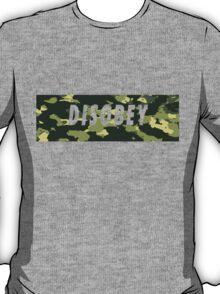Camo Disobey T-Shirt