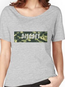 Camo Disobey Women's Relaxed Fit T-Shirt