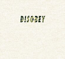 Camo Disobey Alternate Colorway Hoodie