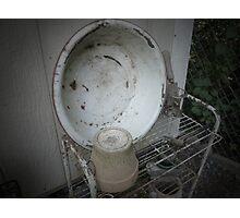 Jennie's Wash Basin Photographic Print