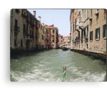 VENEZIA - DE DRIO AL CANAL MY  LOVE .... ITALIA  - EUROPA- VETRINA RB EXPLORE 6 GIUGNO 2013 -       Canvas Print